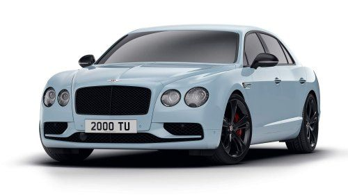 Bentley Flying Spur V8 S Black Edition is furious, fast