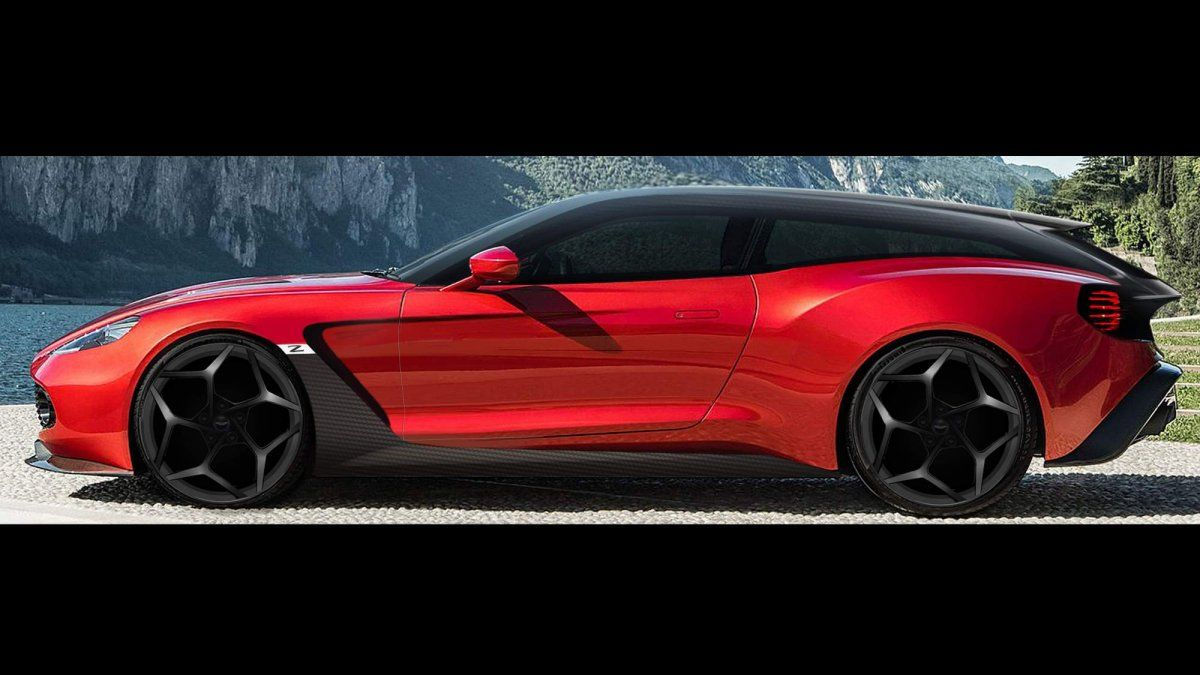 Aston Martin Vanquish Zagato Family Adds Gorgeous Shooting Brake Vers