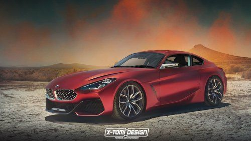 BMW Z4 concept becomes a coupe in PhotoShop