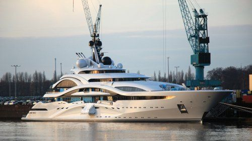 Superyacht Al Lusail delivered by Lurssen