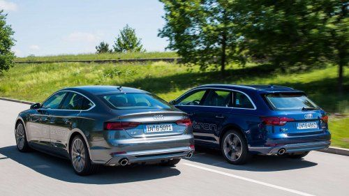 Audi now offers g-tron variants for the A4 Avant and A5 Sportback