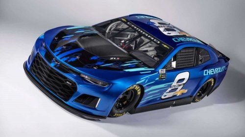 This Chevy Camaro ZL1 is heading for the 2018 NASCAR Cup