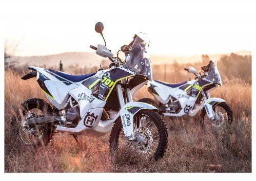 This Husqvarna 701 Rally Kit Rocks