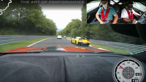 Watch a Jaguar F-Type SVR beat rush hour on the Nürburgring