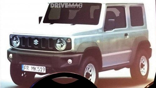 All-new 2018 Suzuki Jimny leaked inside and out, looks like a mini G-Class