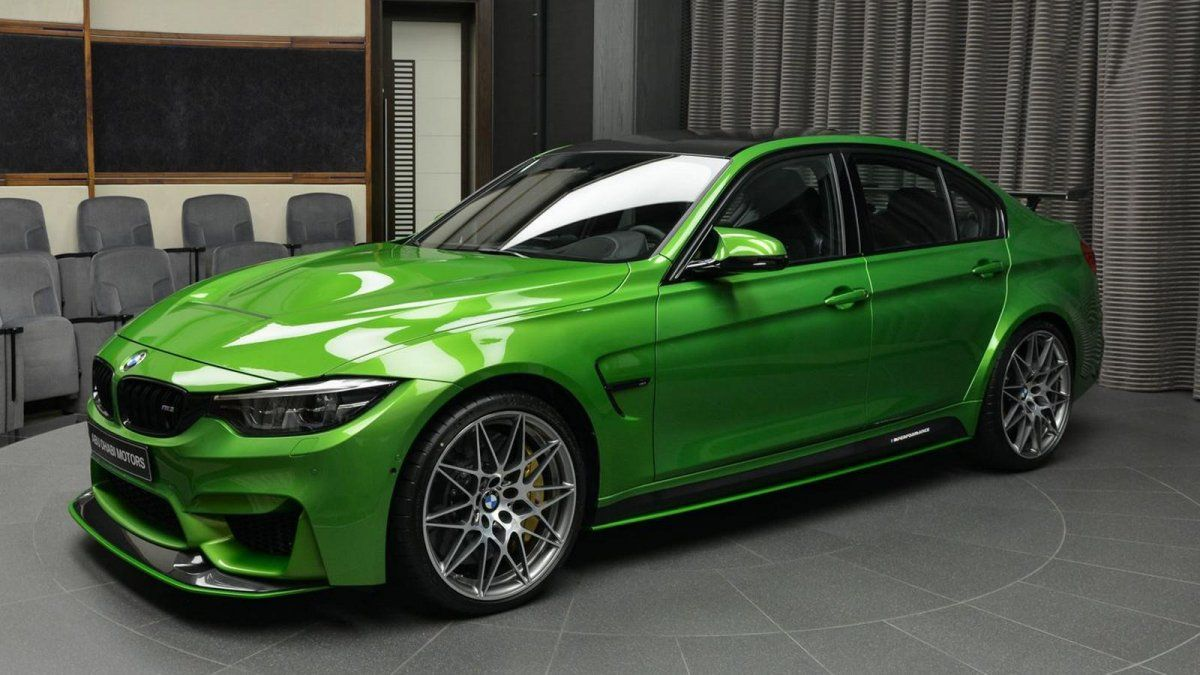 Hate It Or Love It Bmw M3 In Java Green With M