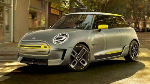 MINI Electric Concept previews brand's first mass-produced EV set for 2019 release