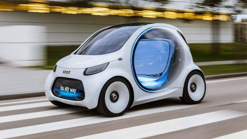 Smart takes leap into the future with Vision EQ Fortwo autonomous pod