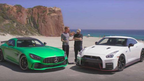 GT R vs GT-R: 2018 Mercedes-AMG  GT R takes on 2017 Nissan GT-R Nismo