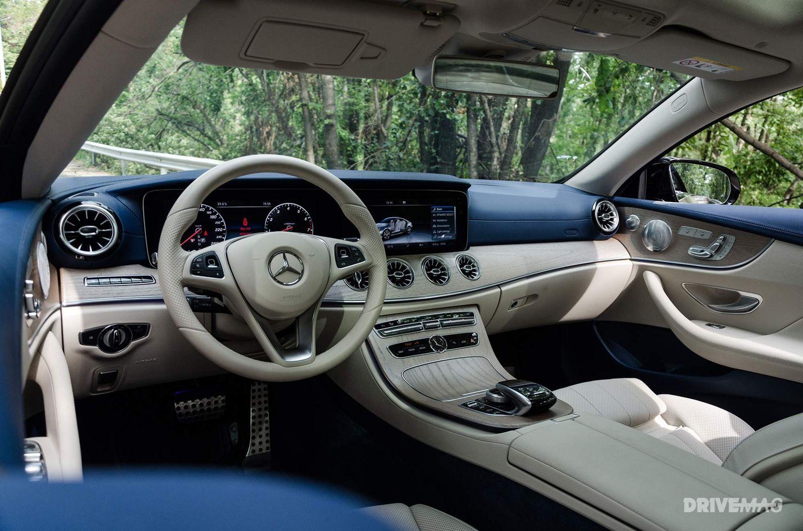 2017 Mercedes-Benz E-Class E 400 4MATIC Coupé review