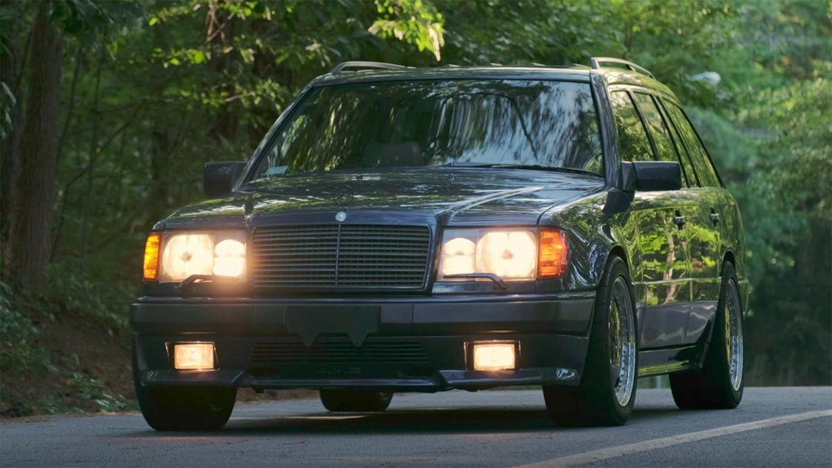 Is the 1987 Mercedes-Benz AMG Hammer the coolest performance wagon ev