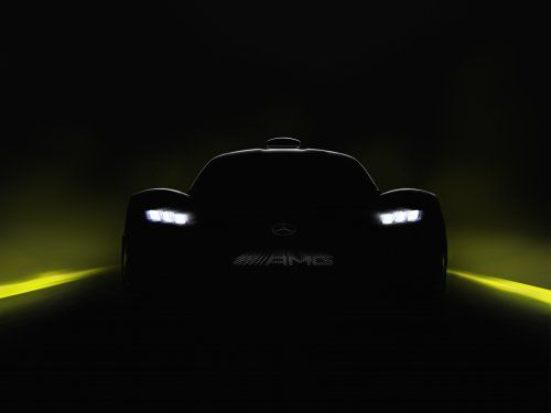 Mercedes-AMG Project One comes to Frankfurt, will hit over 350 km/h