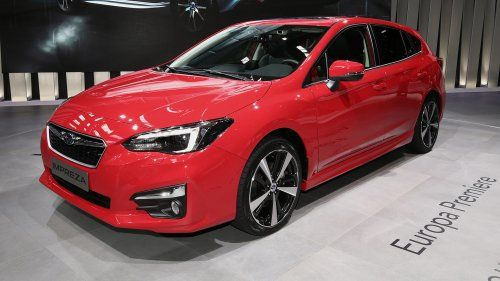 New Subaru Impreza bows before 2017 Frankfurt motor show crowd