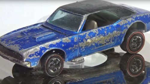Watching these tiny cars restorations is oddly satisfying