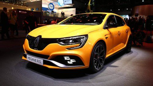 2018 Renault Megane RS powers into Frankfurt with 280-hp 1.8L turbo, all-wheel steering