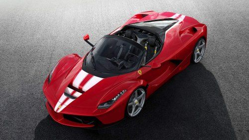 210th LaFerrari Aperta racks up €8.3 million at auction