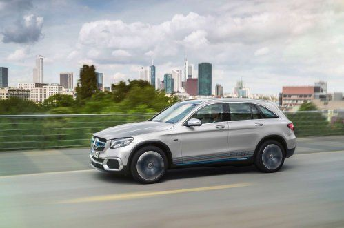 IAA 2017: Mercedes-Benz GLC F-Cell makes a case for hydrogen fuel