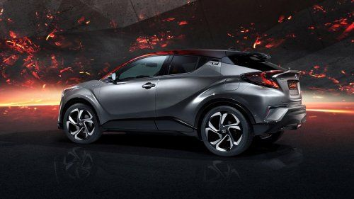 Let's not pretend we care about how powerful the Toyota C-HR Hy-Power Concept is