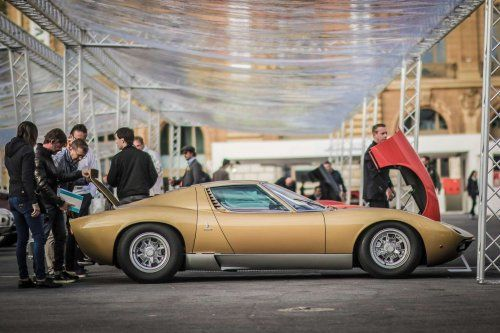 These stunning Lamborghinis had their own Concours d'Elegance