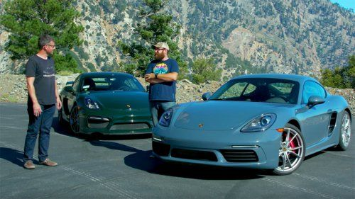 Does Porsche 718 Cayman S have what it takes to challenge a Cayman GT4 on track?