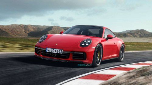 2019 Porsche 911 (992) rendered in evolutionary fashion