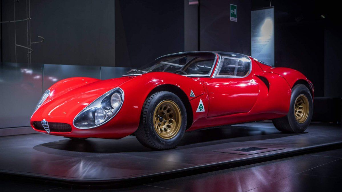 Alfa Romeo 33 Stradale Turns 50 Is Still The Most Beautiful