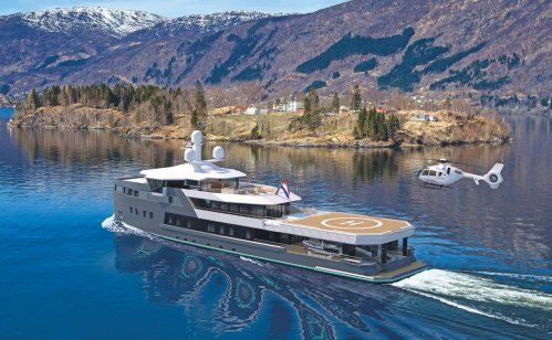 Damen launches new SeaXplorer 55m explorer yacht