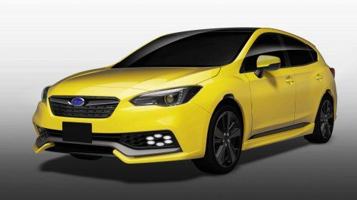 New Subaru concepts explore Impreza's performance side, XV's ruggedness