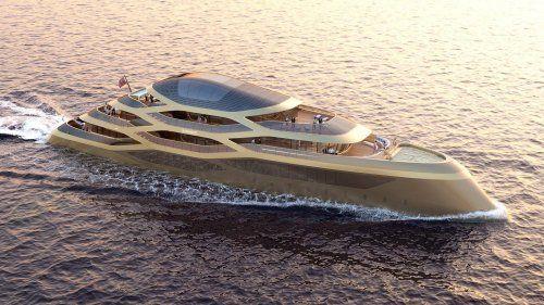 Benetti unveils spectacular Se77antasette concept at Monaco Yacht Show