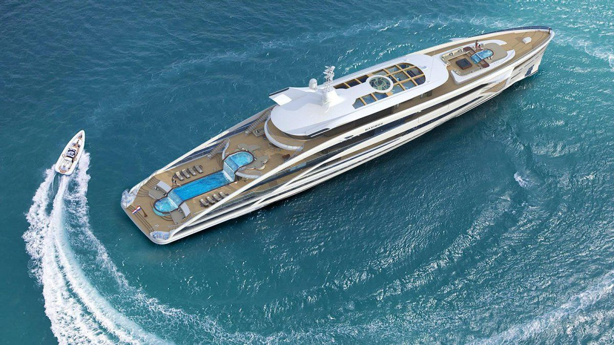 This is Project Maximus from Heesen Yachts
