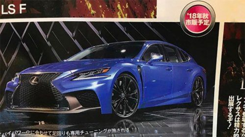 Is Lexus working on an LS F?
