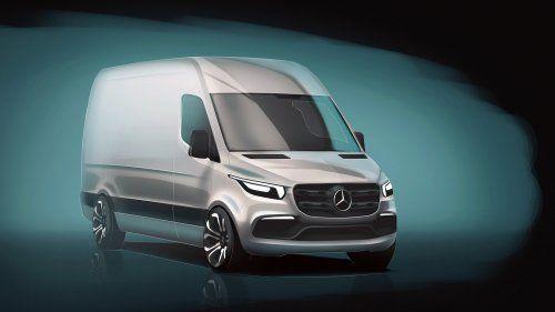 Mercedes teases next-gen Sprinter van