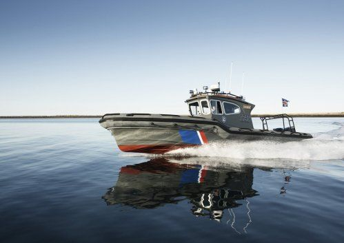 Rafnar Leiftur 1100 is a working boat from Iceland