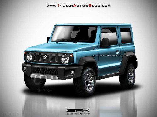 All-New Suzuki Jimny rendered in multiple colors