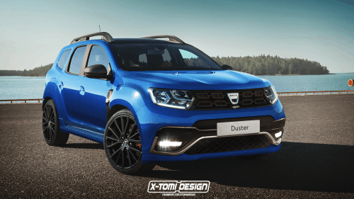 New 2017 Dacia Duster rendered in GT clothing