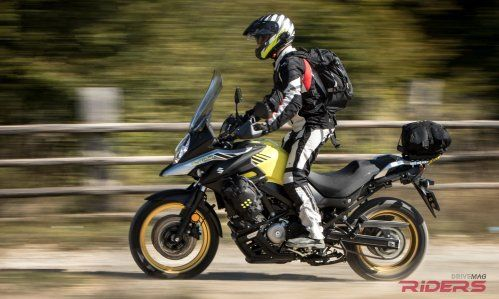 2017 Suzuki V-Strom 650 XT Video Review