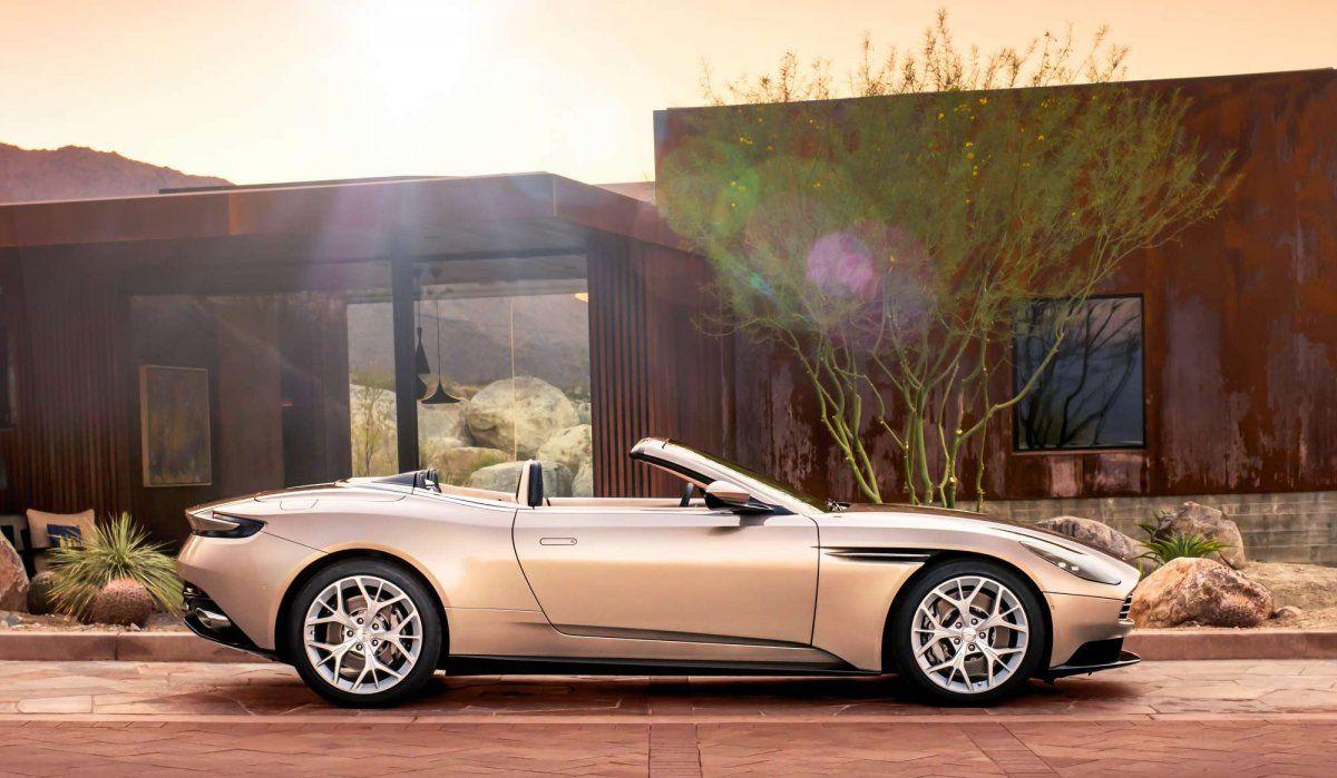 2018 Aston Martin Db11 Volante Mixes V8 Power With Open Air Thrills