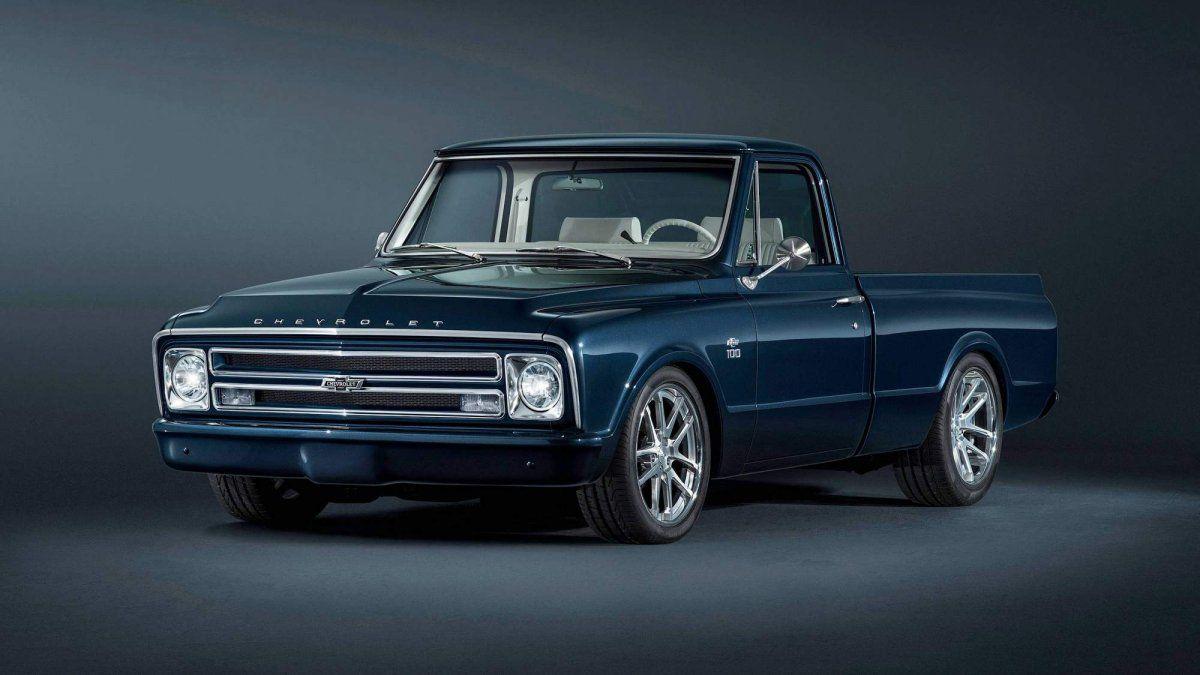 Custom Pickup Trucks >> Chevrolet Builds 1967 C 10 Custom Pickup For Sema