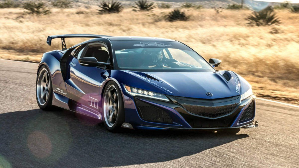 Acura And Scienceofspeed Unveil Tuned Nsx At 2017 Sema Show