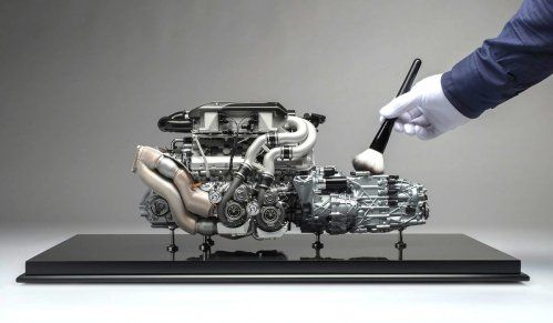 Bugatti Engine model