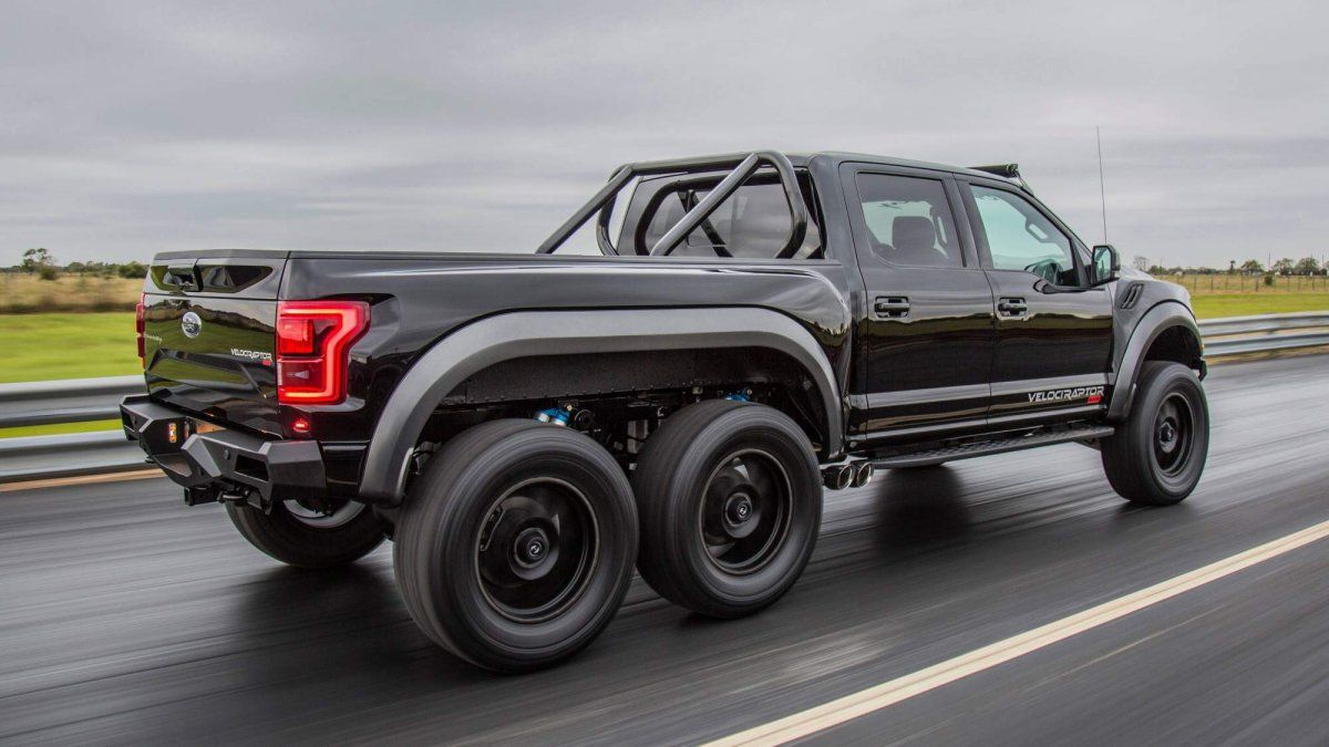 Hennessey VelociRaptor 6X6 off-road pickup truck goes on sale