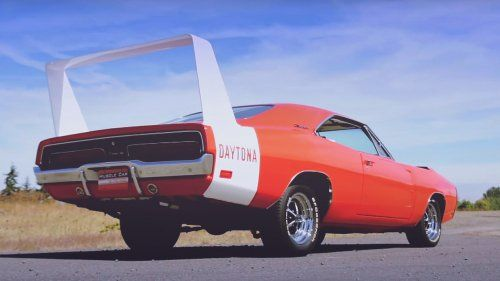 dodge charger daytona 440 muscle car