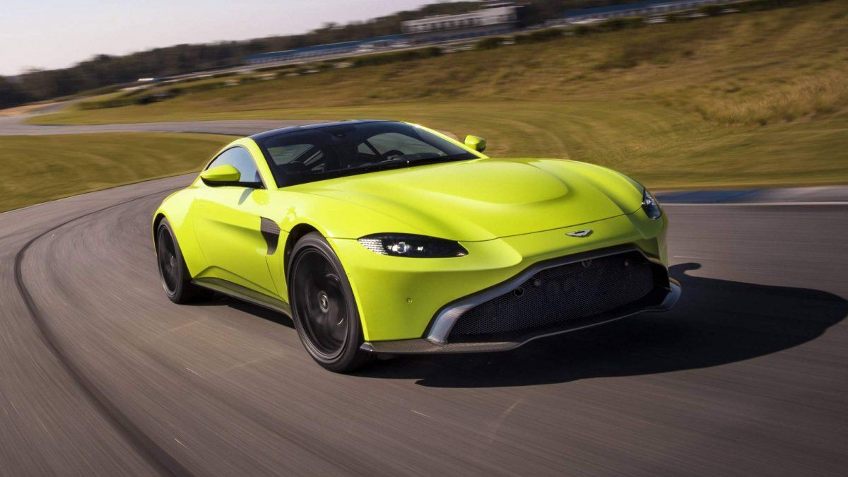 All New 2018 Aston Martin Vantage Breaks Cover With Mercedes Amg Power
