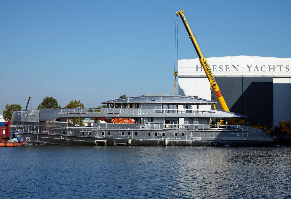 Project Boreas sold by Heesen Yachts