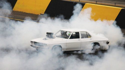 holden hq burnout