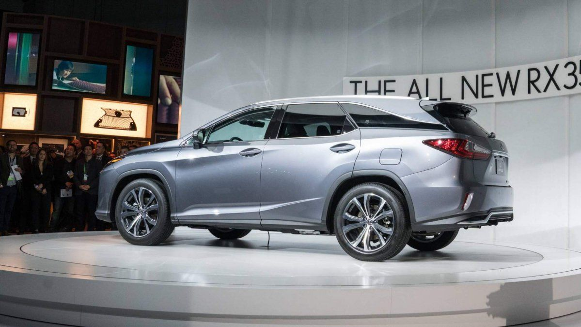 2018 Lexus Rx L Is A Three Row Suv That