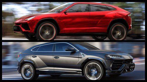 Lamborghini-Urus-Concept-vs-Lamborghini-Urus-production-model
