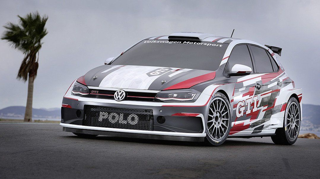 This Is The 2018 Volkswagen Polo Gti R5 Rally Car