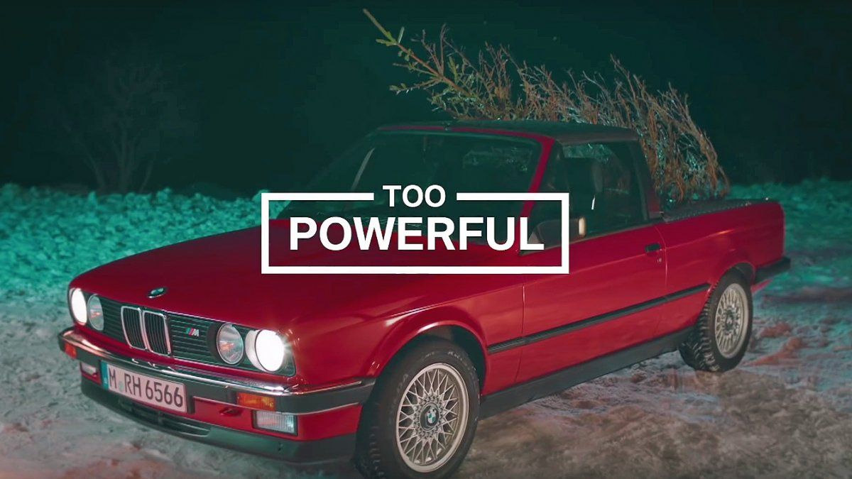 Bmw M Wishes Us Merry Christmas With The M3 E30 Pickup