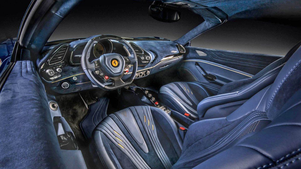 What Would You Pay For This Carlex Design Ferrari 488 Spider Interior